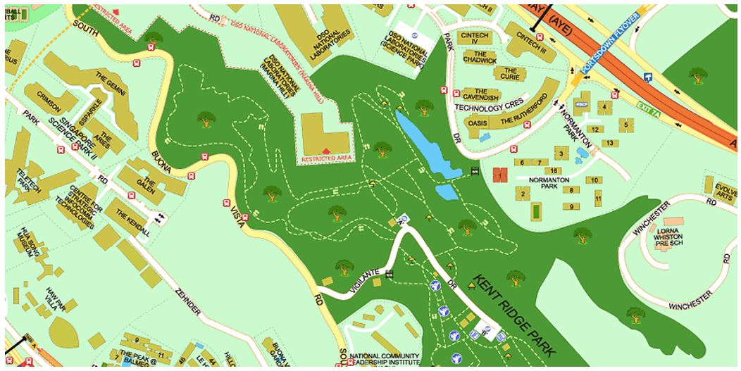 One Normanton Park comparison - Kent Ridge Hill Residences - enjoys large Greenery