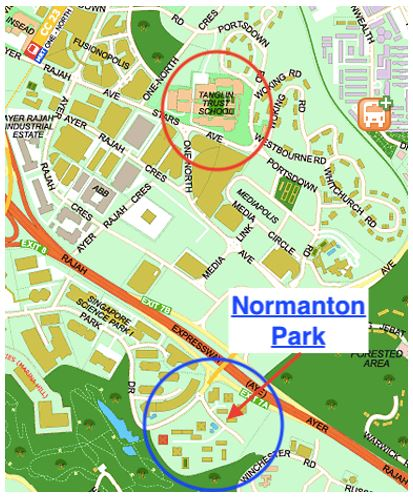 One Normanton Park - with Tanglin Trust School